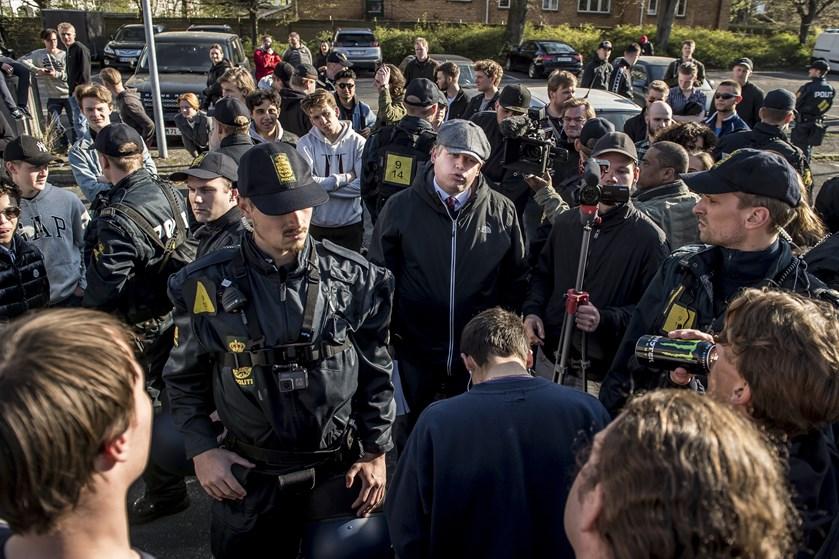 Fra 1. januar til og med 29. april har politiet brugt 41 millioner kroner i forbindelse med Paludans demoer.