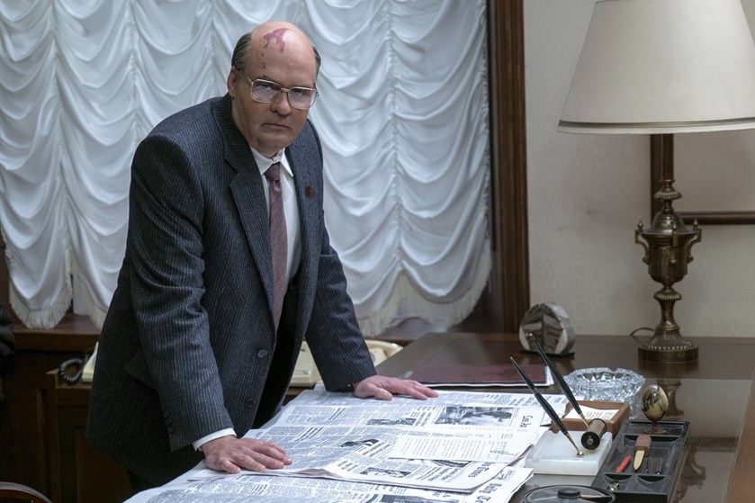 Skuespilleren David Dencik spiller rollen som Mikhail Gorbatjov i HBO-satsningen om atomulykken i Tjernobyl.