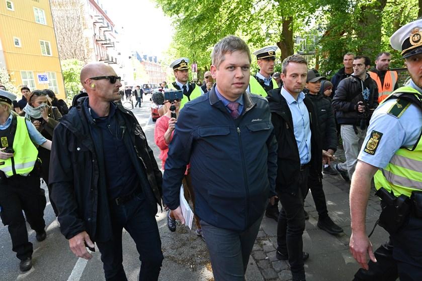 Stram Kurs partileder, Rasmus Paludan, skal betale en bødesum i en sag, han fik på nakken som advokat.