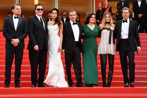 """Quentin Tarantinos """"Once Upon a Time in Hollywood"""" er tirsdag aften i Cannes blevet vist for første gang."""