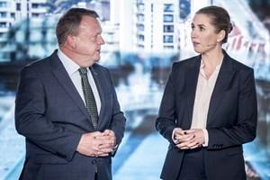 S-formandens sygdom og Løkkes udspil om SV-regering har været med til at give V-lederen markant mere tv-tid.
