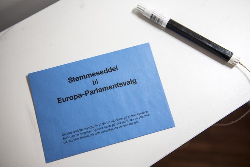 I 2014 stemte færre vælgere blankt ved Europa-Parlamentsvalget sammenlignet med valget i 2009.
