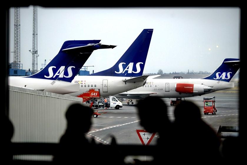 SAS var ramt af pilotstrejke syv dage i april og maj. Det har betydet et fald i selskabets passagertal.