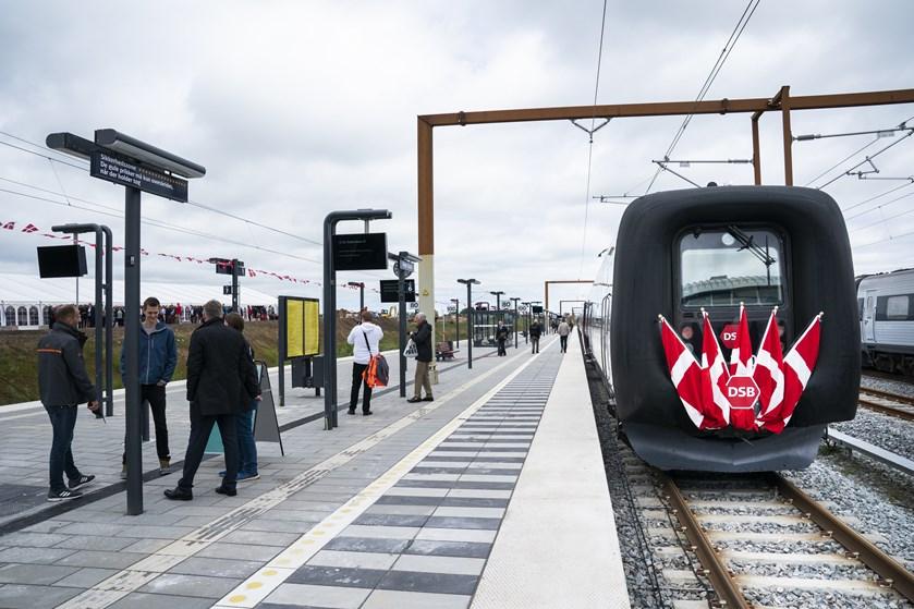 Ringstedbanen lægger togskinner til DSB's Intercitylyntog mellem blandt andet København og Aalborg.