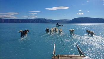 - Det er overvældende, siger ansat fra DMI, der har taget billede fra Nordvestgrønland, der går verden rundt.