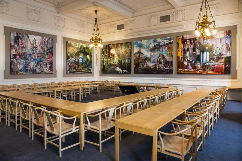 DF mistede 21 mandater ved valget og flytter tilbage i partiets tidligere gruppeværelse på Christiansborg.