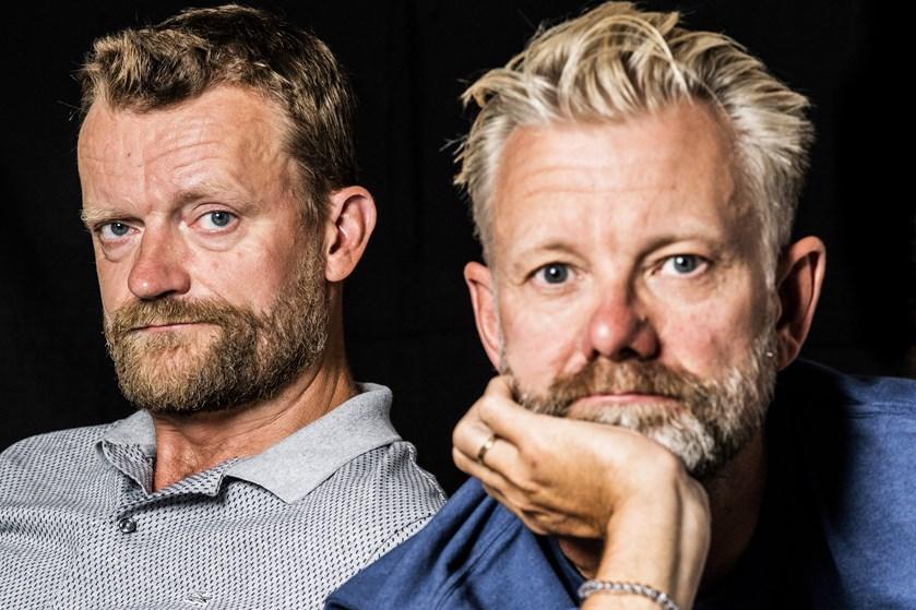 """Casper Christensen og Frank Hvams nye film, """"Klovn The Final"""", bliver den sidste Klovn-film fra komikerduoen."""