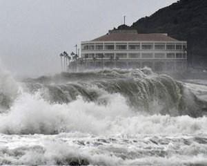 Områder, der blev ramt hårdt af oversvømmelser i 2018, er igen i farezonen i det vestlige Japan.