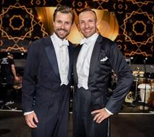 """Michael Maze og bokseren Mikkel Kessler var begge hamrende nervøse i """"Vild med dans""""-debuten."""