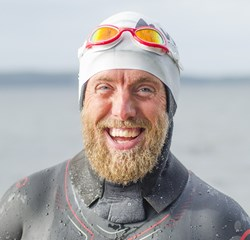Søndag har Lars Simonsen afsluttet sin svømmetur om Danmark og bevist for sig selv, at han kan, hvad han vil.