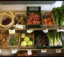 Salget af økologi i storkøkkener udgør omkring 11 procent af det samlede salg af fødevarer.