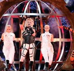Det var i strid med reglerne, da islandsk gruppe flagede med palæstinensiske flag under Eurovision i Tel Aviv.