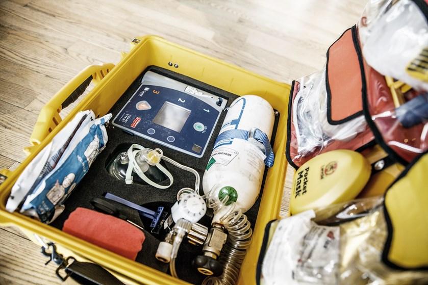 """Projektet """"Danmark redder liv"""" nærmer sig mål om at sende frivillige ud til alle hjertestop i to regioner."""