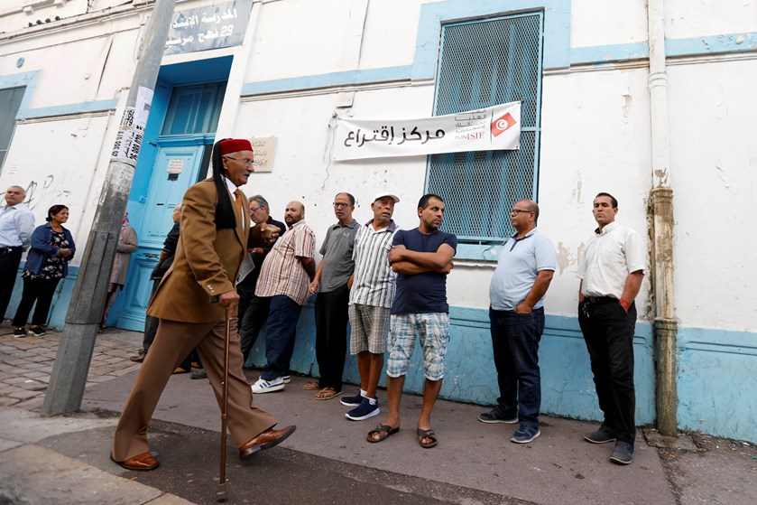 Ved præsidentvalget vragede tuneserne de etablerede partier. Tendens kan fortsætte ved parlamentsvalget.