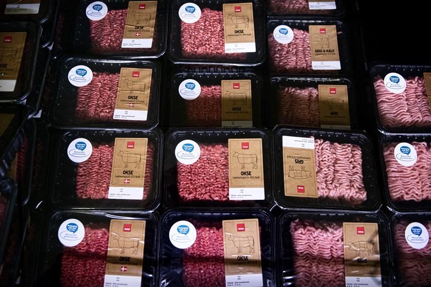 Mens danskerne forbruger mindre fersk kød, er salget af vegetariske produkter steget markant.