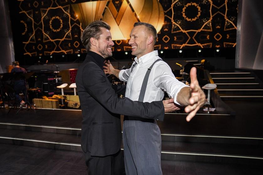 """Michael Maze røg fredag ud af """"Vild med dans"""" efter omdans mod vennen Mikkel Kessler."""