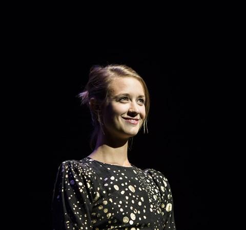 """Sara Hjort Ditlevsen, der blandt andet er kendt fra tv-serien """"Rita"""", skal være mor for første gang."""