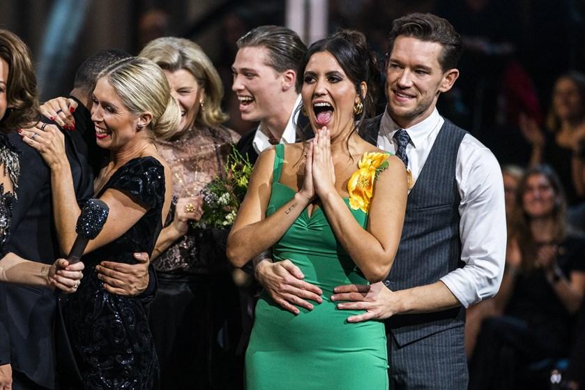 """Sangerinden dansede sig i finalen i """"Vild med dans"""". Hun er glad for, at hendes feminine side er kommet frem."""