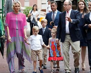 Der er tvillingefødselsdag i Monaco, når børnene tirsdag bliver fejret.