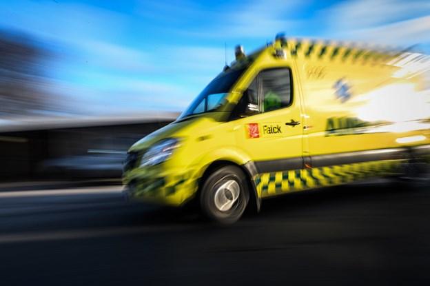 Uheld sendte trafikanter til tjek på sygehuset