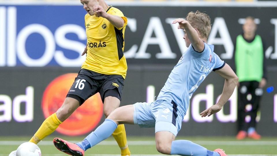 Randers FC tabte på udebane til Elfsborg i kvalifikationen til Europa League. Foto: Björn Larsson Rosvall/Scanpix