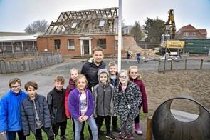 Koldby Skole bliver grønnere