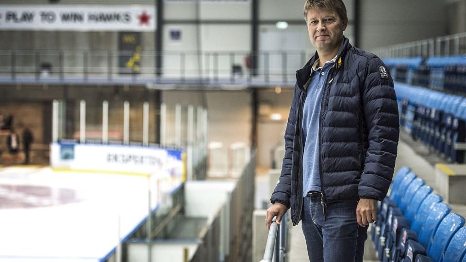 Henrik Andersen er tilfreds med høgenes sæsonstart.Arkivfoto: Laura Guldhammer