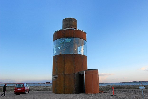 Smukt ser tårnet ud. Foto: Hans B. Henriksen Hans B. Henriksen