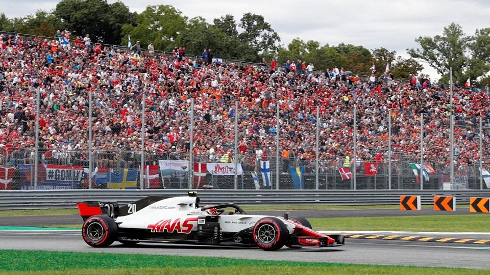 Kevin Magnussen var irriteret efter en batalje med Fernando Alonso på et afgørende tidspunkt af Formel 1-kvalifikationen. Foto: Stefano Rellandini/Reuters