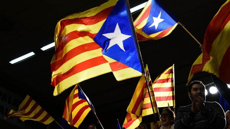 Lørdag er det et år siden, at den spanske regering opløste parlamentet og lokalregeringen. Foto: Javier Soriano/Ritzau Scanpix