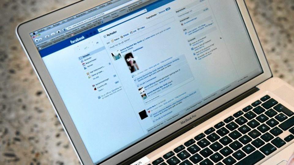 Facebook kan bruges til mange ting - også til at aftale slagsmål. Modelfoto