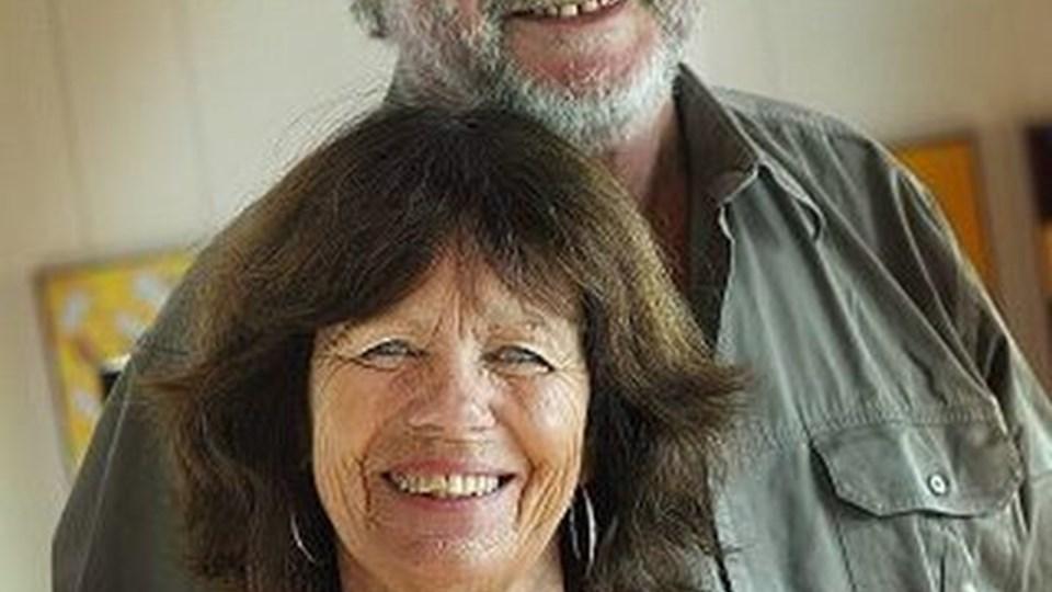 Ægteparret Kristensen fortæller om 25 år i Afrika. Arkivfoto: Jens Morten