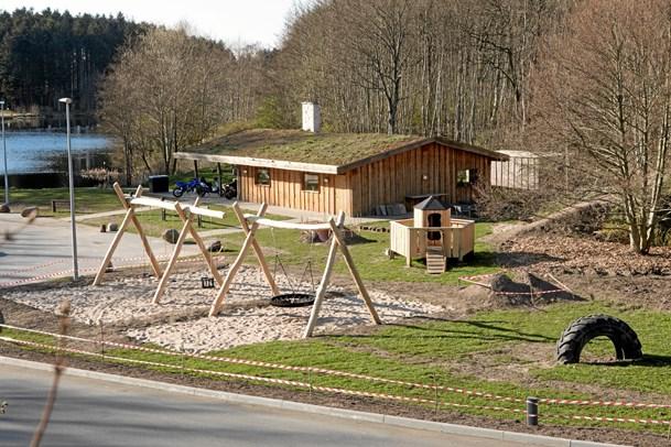 Indvier ny legeplads ved Nols Sø