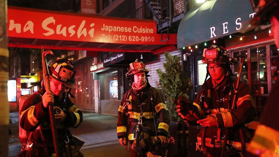 Explosion Reported in Chelsea Neighborhood of New York City Foto: Scanpix/Spencer Platt