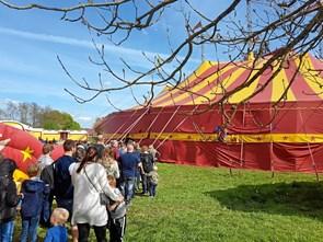 Fejl på cirkusplakat i Hobro