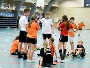 Håndboldskole i Hallerne