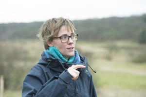 Nyt hegn til glæde for  får, natur og biologer