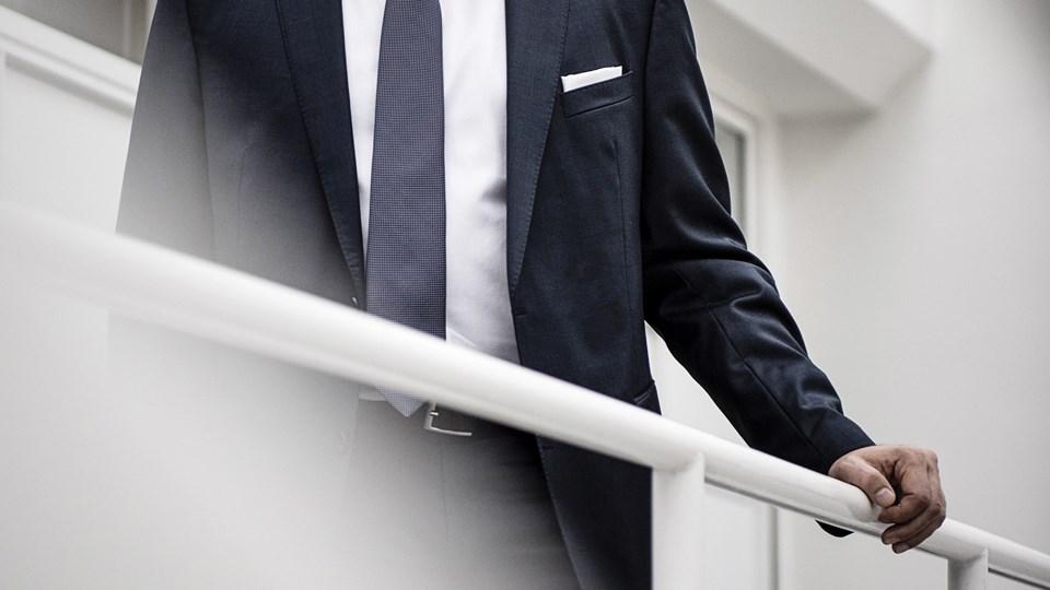 Danske Bank har udpeget Jesper Nielsen som midlertidig direktør, indtil en permanent afløser for Thomas Borgen er fundet. Det oplyser banken i en meddelelse.  Arkivfoto: Thomas Lekfeldt, Ritzau Scanpix