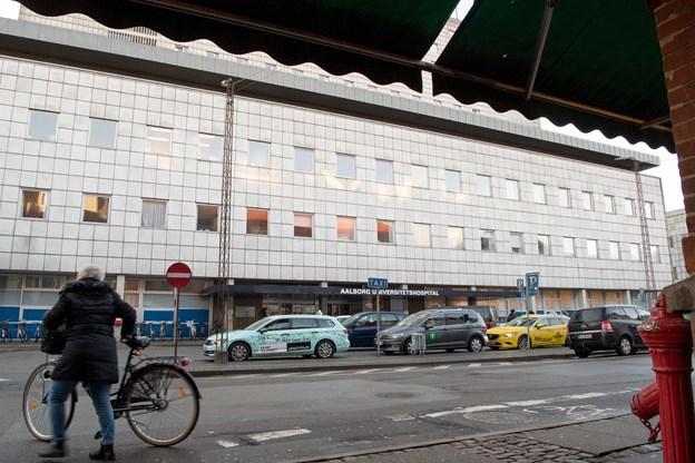 Det gratis smertetjek var henlagt til reumatologisk afdeling i forhallen på Aalborg Universitetshospital i Reberbansgade i Aalborg. Arkivfoto: Henrik Bo
