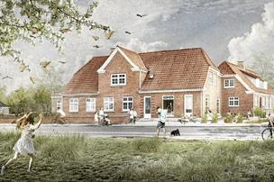 Sådan skal gammel købmandsgård i Løkken forvandles til hotel
