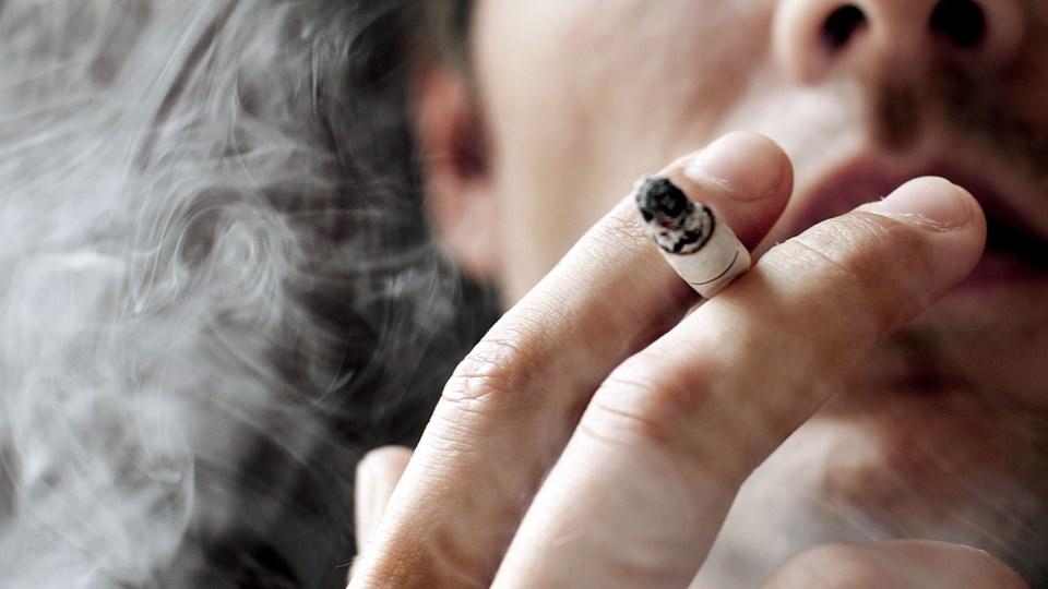 Ifølge Danmarks Statistik er Danmark ud af 37 andre europæiske lande det næstbilligste at være ryger i. Arkivfoto: Linda Kastrup, ritzau