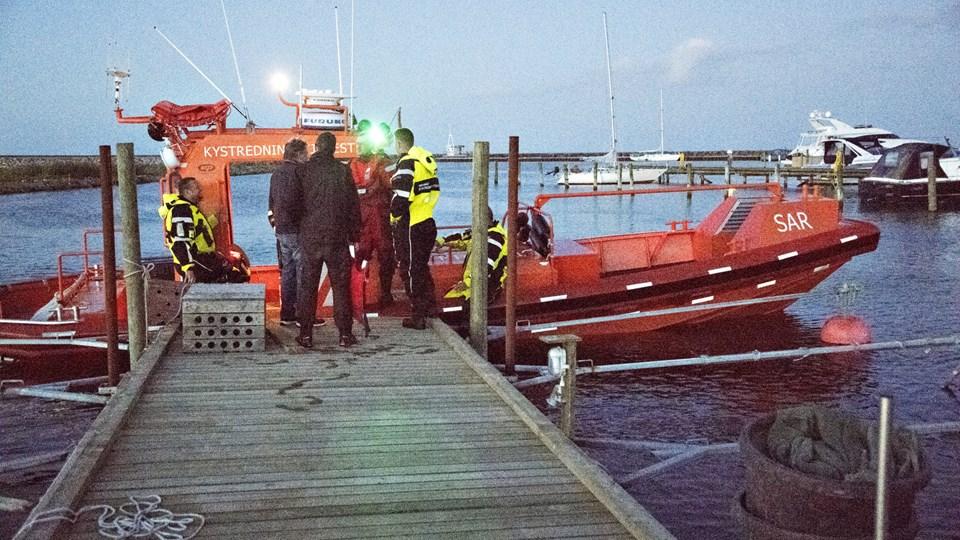 Redningsbåden fra Sæby var i 2018 i aktion 35 gange. Arkivfoto: Kurt Bering