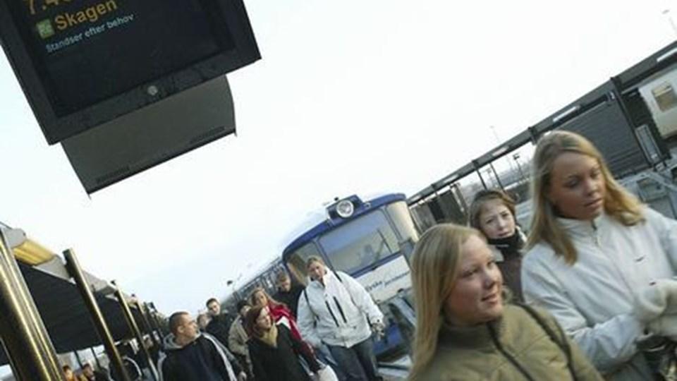 FUF foreslår ungdomskort, så unge kan rejse gratis.Arkivfoto: Ulrik Bang