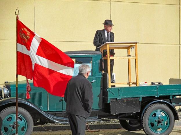 Personbiler med også motorcykler og lastbiler vil være med i den store veteranbilsparade fra Thisted gennem Nordthy 16. juni. Privatfoto
