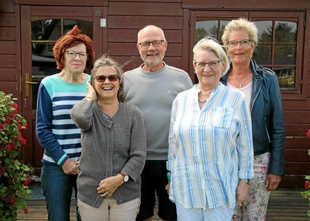 Tove Risager (tidligere bruger af Kamillus), Preben Dalgaard,Annette Lykke-Madsen Susanne Lindberg og Eva Sellin Mortensen, som alle er frivillige i Kamillus).
