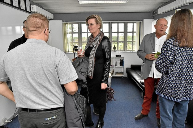 Psykoterapeut Annamarie Bundgaard tog imod i sit firma Intelligent Leders lokaler.