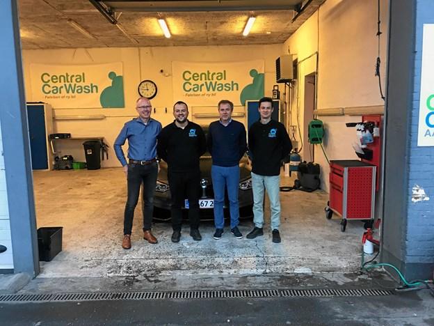 Her ses det lokale firkløver bestående af: Andreas Dirksen, Damir Stojkovic, Lars Birk Andersen og Radu Danila.
