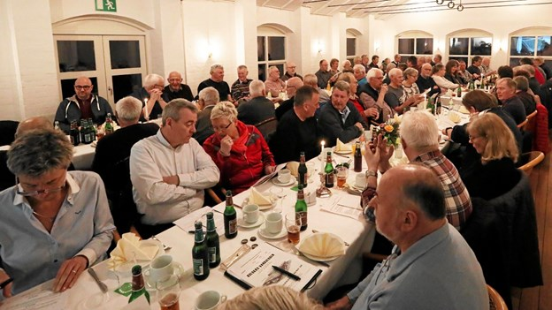 Omkring 75 medlemmer tog del i generalforsamlingen. Foto: Allan Mortensen