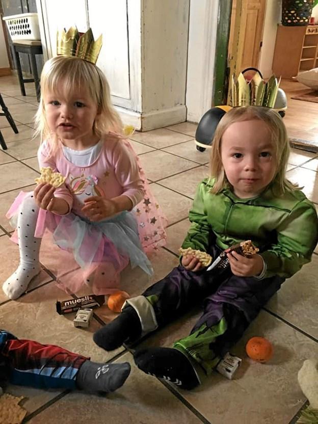 Katteprinsessen og Katteprinsen. Foto: Privat Privat