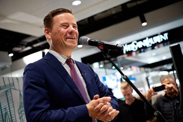 Borgmester Thomas Kastrup-Larsen havde glædet sig til at byde Magasin velkommen hjem, sagde han.